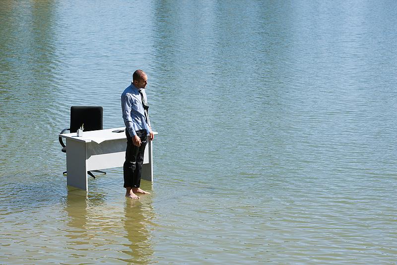Tetőzik a Duna, végre valami bíztató hír az árvízről