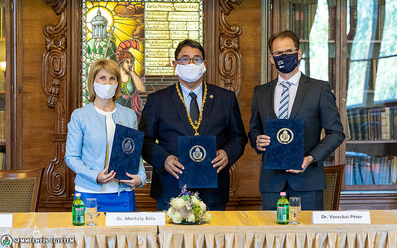 Klinikai kutatások bővítése érdekében összefogott a Semmelweis Egyetem és a Pfizer
