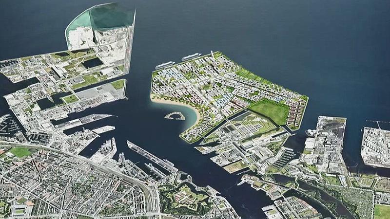 Mesterséges szigetet építenek, hogy megvédjék Koppenhágát