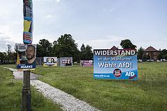 Meglepetést hozott Merkel pártja Szász-Anhaltban
