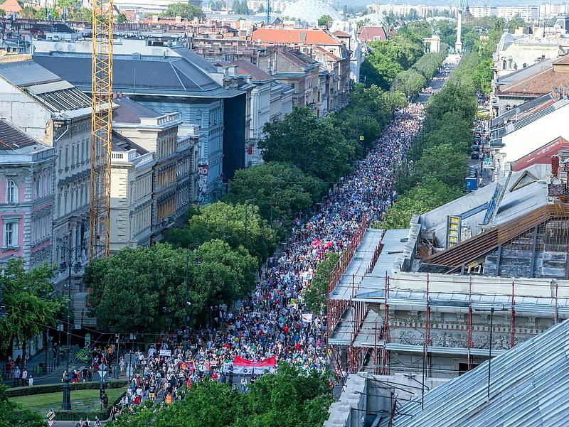 Karácsony Gergely: nem a kínai emberek ellen tüntettünk, hanem Magyarország szuverenitásáért