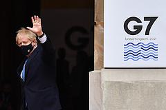 G7-csúcs: Boris Johnson a járványról és az észak-írországi szabályozásról is beszélt
