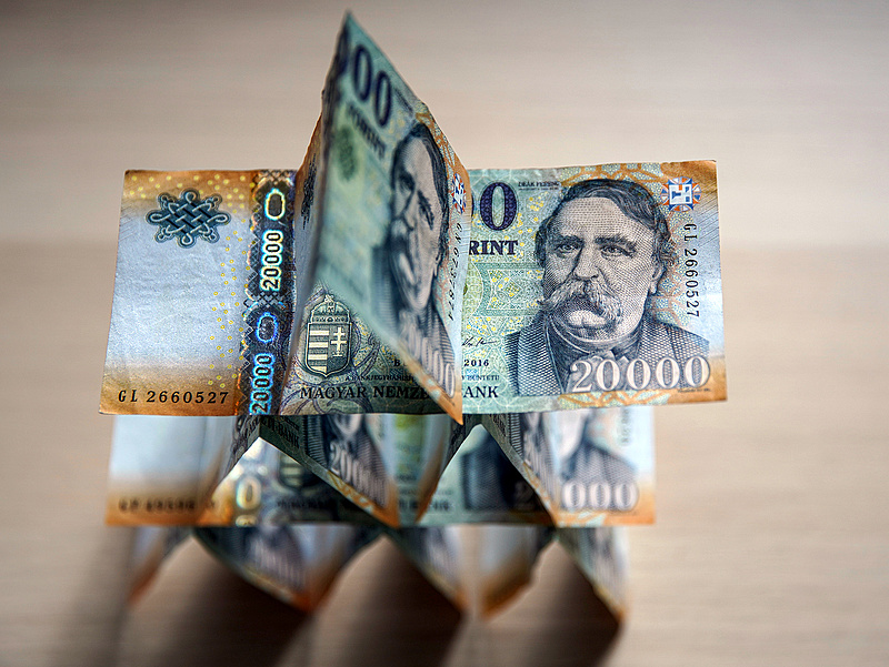 A legmagasabb tét: 325 forint/euró jövőre