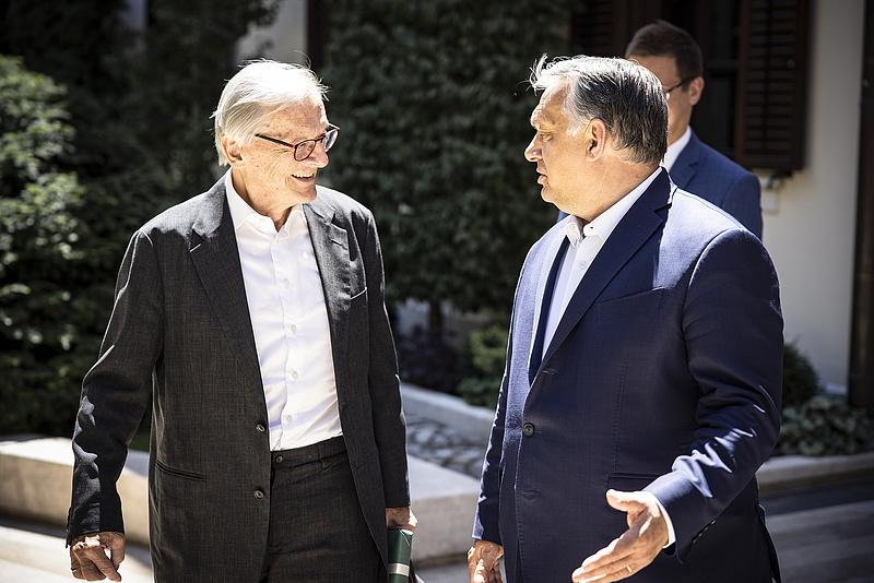 Orbán Viktor Schüssel korábbi osztrák kancellárral tárgyalt
