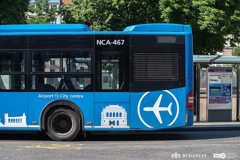 Változik a 100E reptéri busz menetrendje