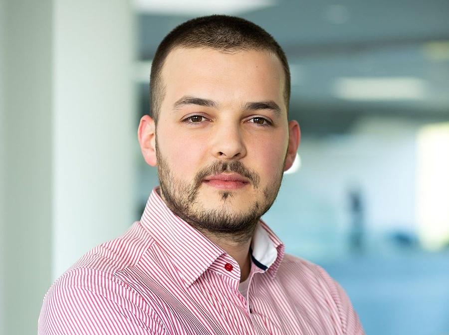 Pomezanski Máté, Telenor, digitális termékekért felelős igazgató Fotó: Telenor Magyarország