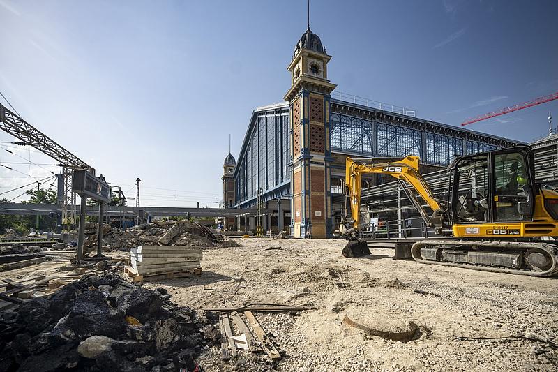 Félidőhöz ért a Nyugati pályaudvar felújítása
