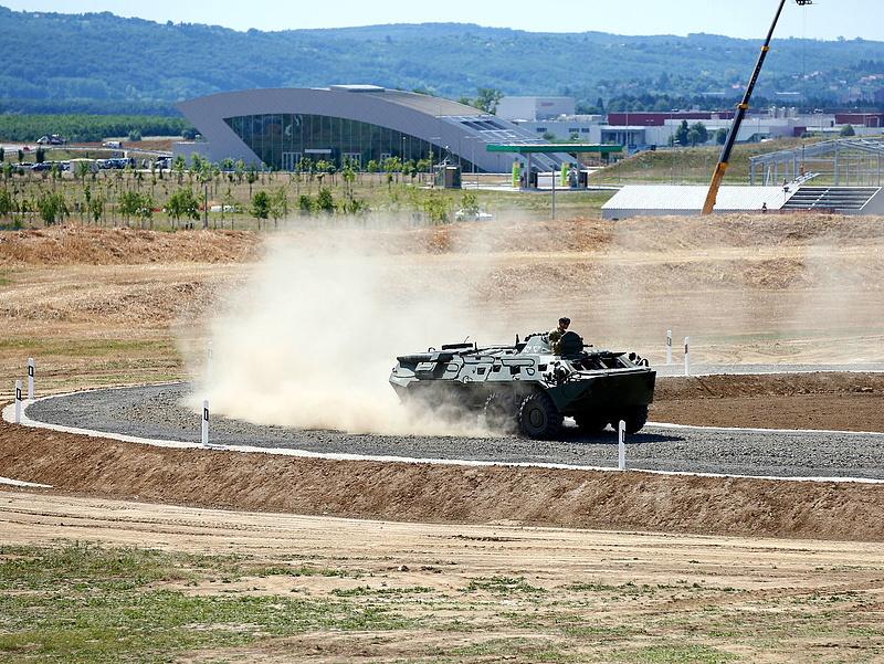 A Duna Aszfalt dolgozhat az egerszegi tesztpályán