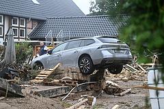 Németországi áradások: Áder részvétet kívánt és segítséget ajánlott Németországnak