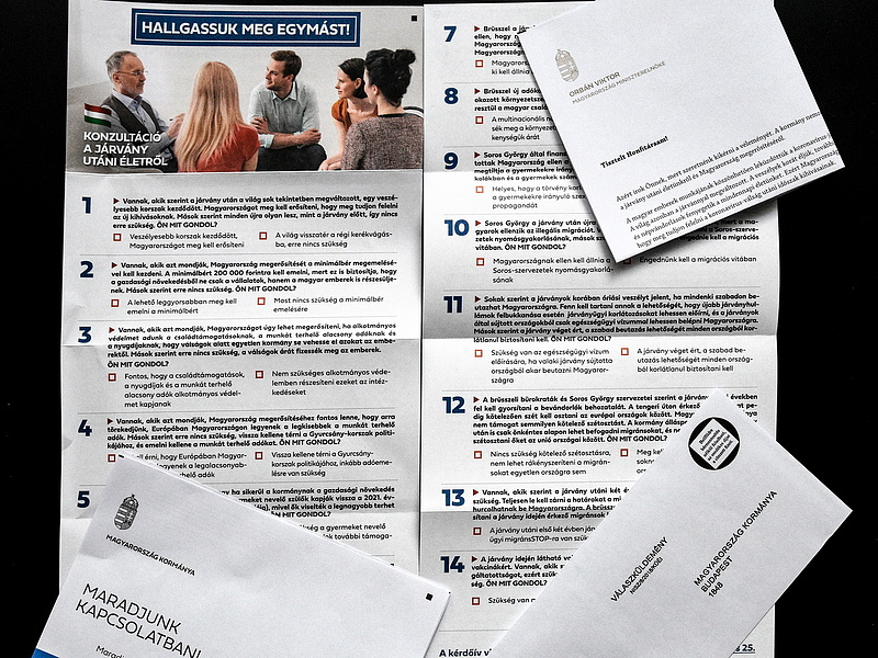 Kormány: informatikai támadás érte a nemzeti konzultációs oldalt