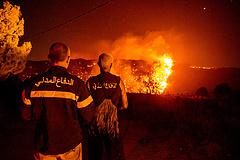 Pusztító erdőtűz perzseli fel Libanon északi részét