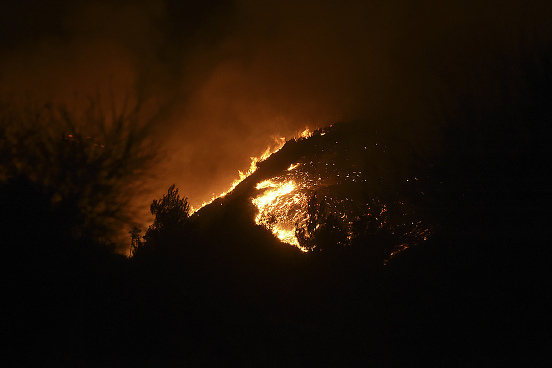 Magyarországra is elért a kaliforniai erdőtűz füstje