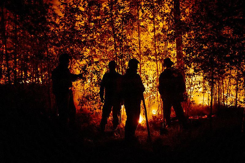 Nagy a baj Spanyolországban a fékezhetetlen erdőtüzek miatt