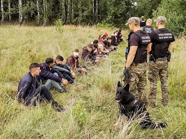 Vegyes német köszönet a lengyel határvédelemért