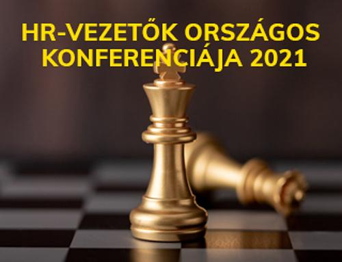 HR-vezetők Országos Konferenciája 2021