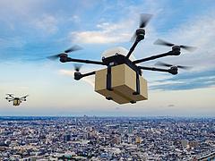 Van, ahol sikeres a drónos csomagszállítás