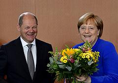Sovány balos győzelmet hoztak a német választások