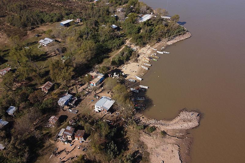 Történelmi aszály sújtja a dél-amerikai Paraná folyót