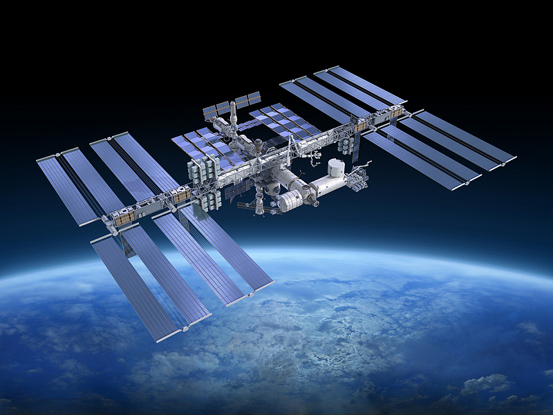 Riadó volt a Nemzetközi Űrállomáson