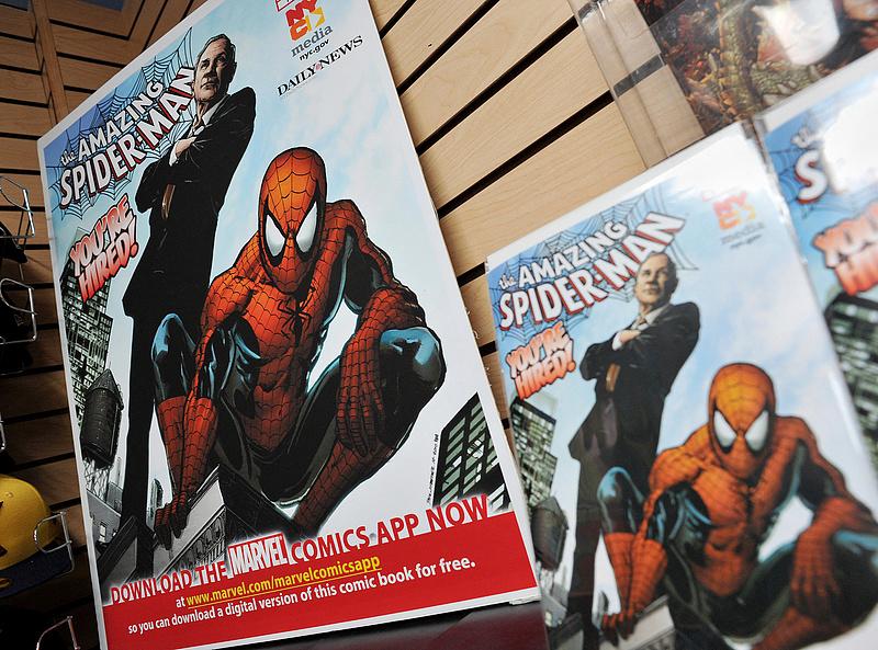 Pókember történelmet írt az aukciósházban