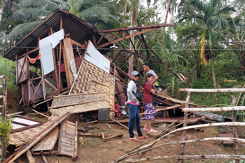 Tájfun pusztított a Fülöp-szigeteken