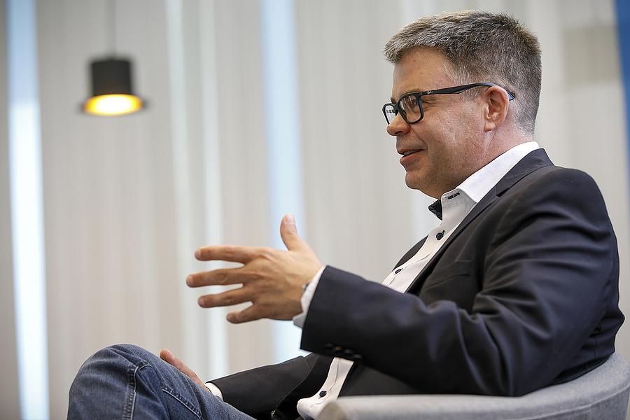 Simon András, Siemens: jelentős megtakarítások érhetők el a mérőeszközökkel és a rájuk épülő elemzésekkel (forrás: 4iG).