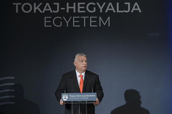 Orbán Viktor szerint a tokaji egyetem adósságtörlesztés a magyar vidéknek