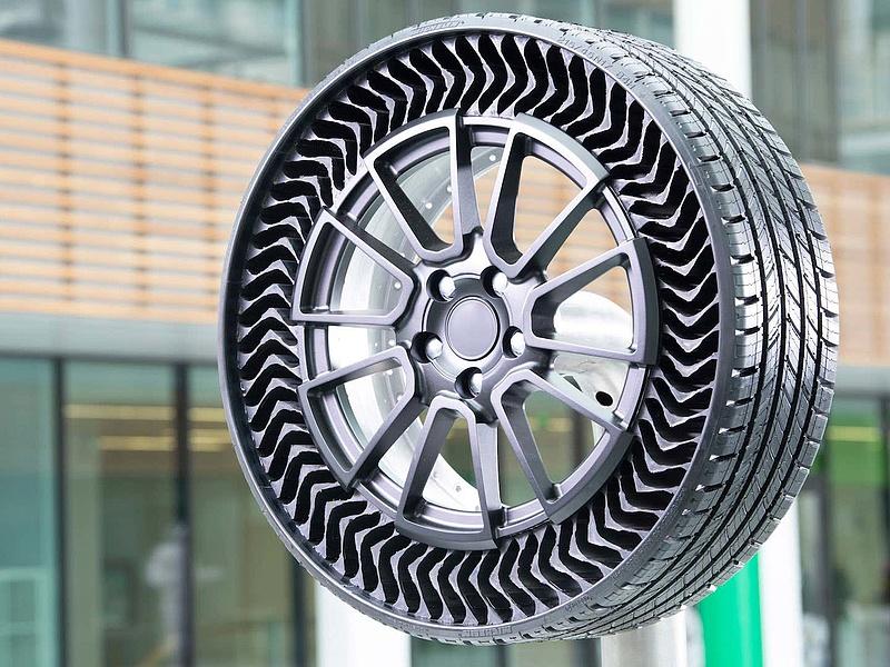 Defekt- és légmentes gumiabroncsot fejlesztett ki a Michelin