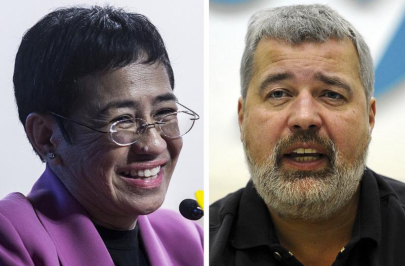 Újságíróknak ítélték a Nobel-békedíjat