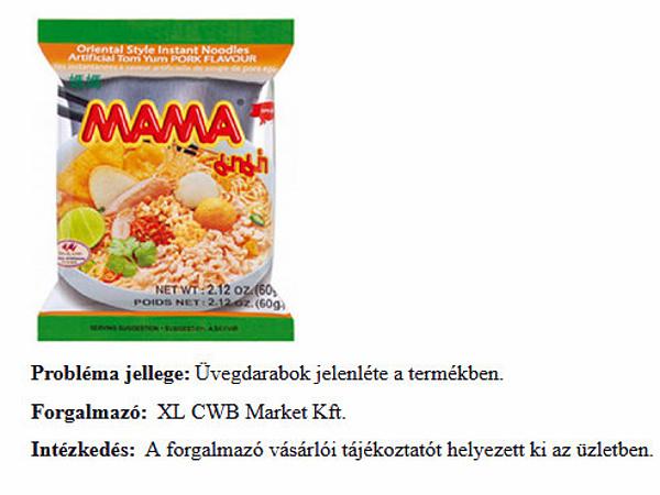 Termékvisszahívás: üveg lehet az instant levesben