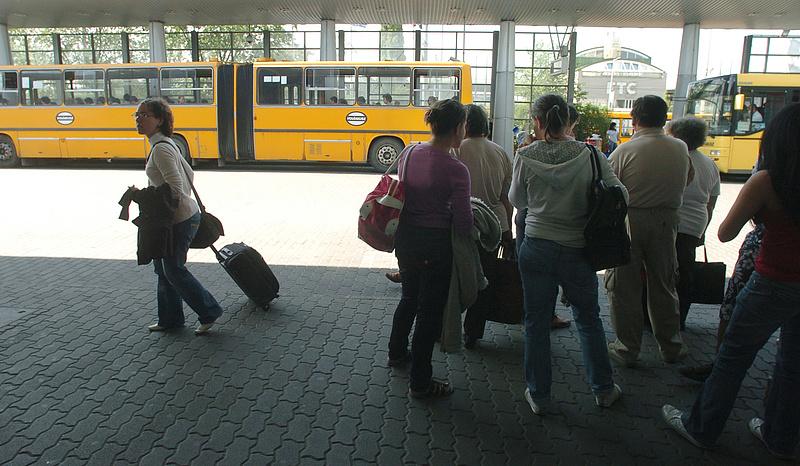 Külsős cég ellenőrzi a jegyeket a Volán buszain