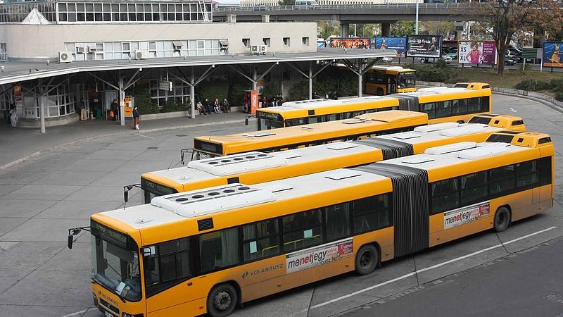 A MAN-tól vett buszokat a Volán
