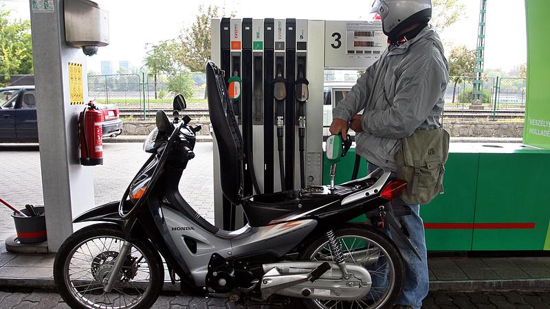 Csökken az üzemanyagadó