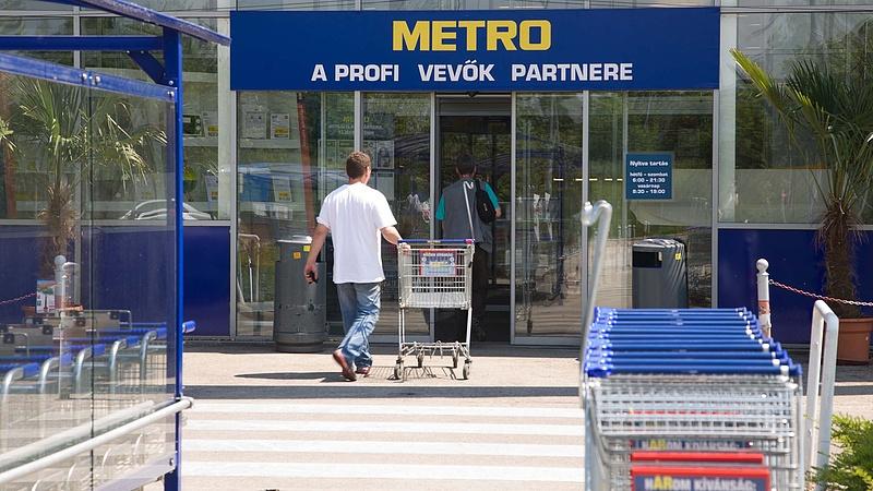 Közzétette jelentését a Metro - esett az árfolyam