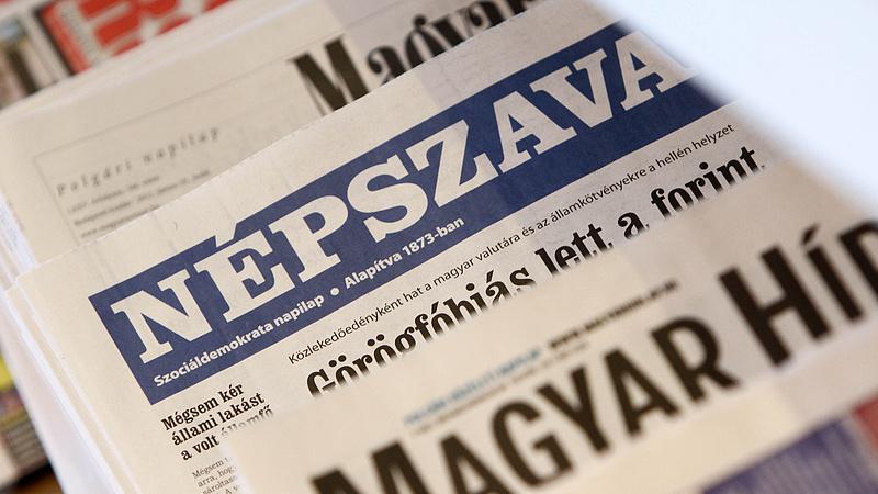 Itt a bejelentés: elkelt az ellenzéki napilap