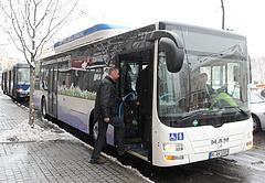 Földgázhajtású buszokat vett a BKV