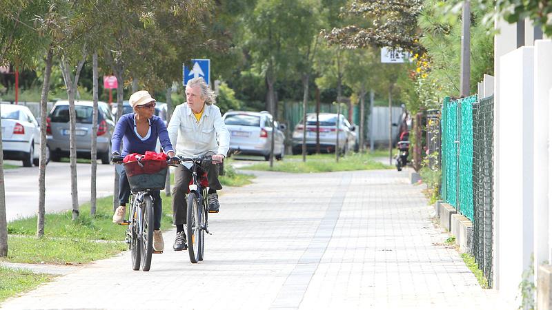 Biciklisek figyelem! - Új kerékpárutak épülnek